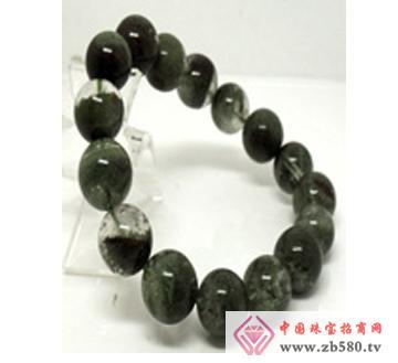 佰瑞福珠宝--绿幽灵手链