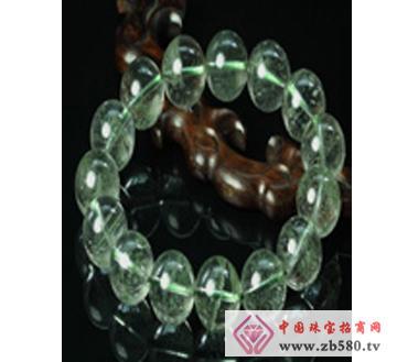 佰瑞福珠宝--绿幽灵手链-