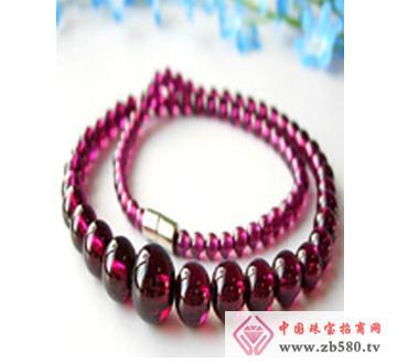 佰瑞福珠宝--石榴石项链01