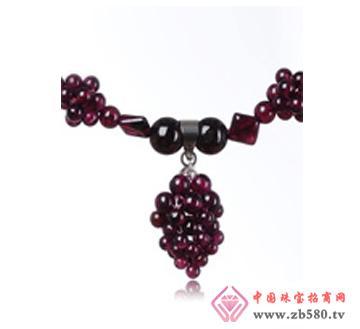 佰瑞福珠宝--石榴石项链02