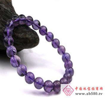 佰瑞福珠宝--紫水晶手链01