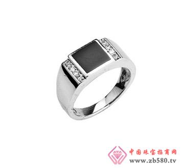 尔雅珠宝--男士戒指01