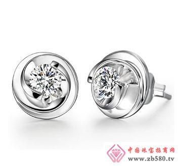 璀璨钻石-耳钉