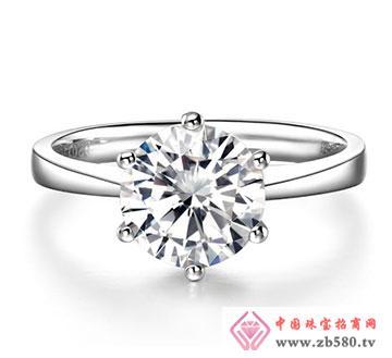 璀璨钻石-六爪钻戒