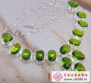 橄榄石项链