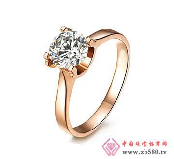 钻石女戒-牛头戒指