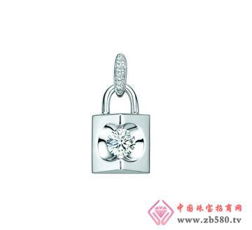润鑫珠宝--PT990钻石吊坠