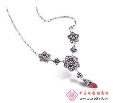 银海饰品-泰银宝石吊坠