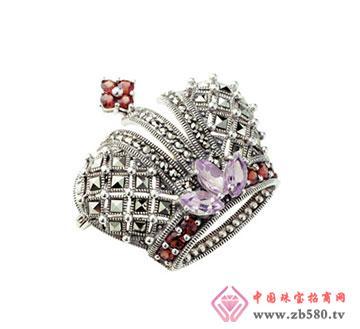 银海饰品-胸针皇冠