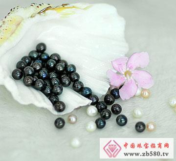 9~10mm黑珍珠