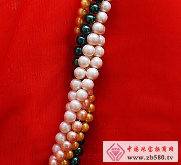 9~10mm黑珍珠串珠