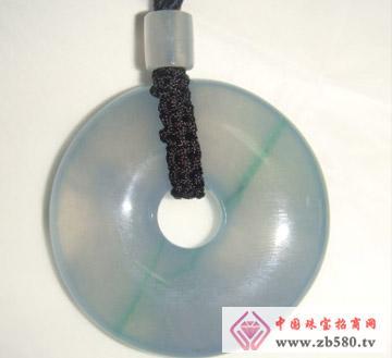 中艺翡翠--冰紫色圆扣