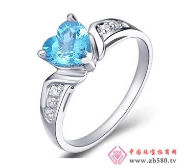 钻石汇珠宝--彩宝戒指01