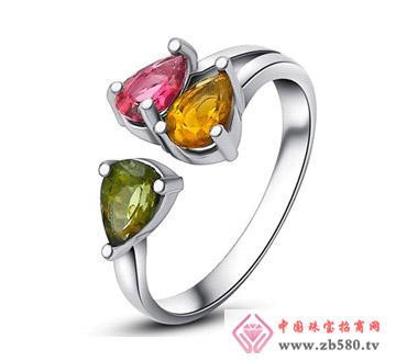 钻石汇珠宝--彩宝戒指07