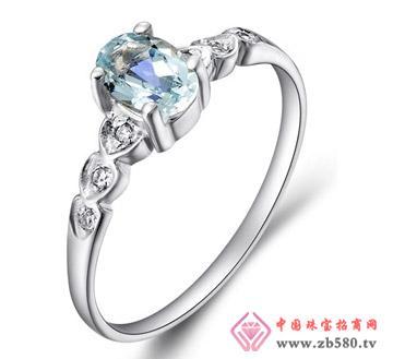 钻石汇珠宝--彩宝戒指08