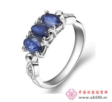 钻石汇珠宝--彩宝戒指09