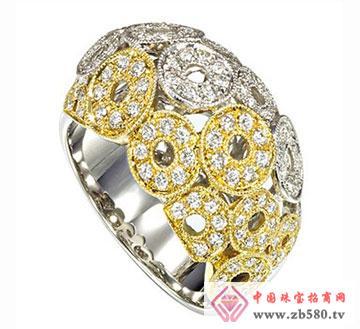 夏儿首饰-金镶钻戒指