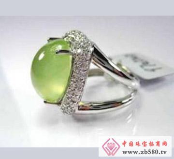 翁记珠宝--葡萄石吊坠01