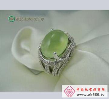 翁记珠宝--葡萄石戒指01