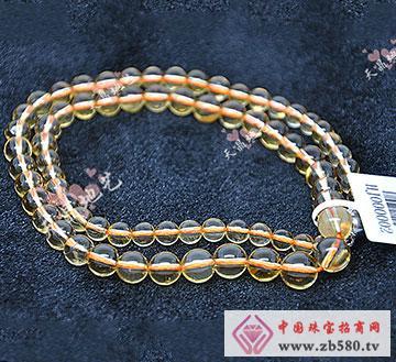 黄水晶项链