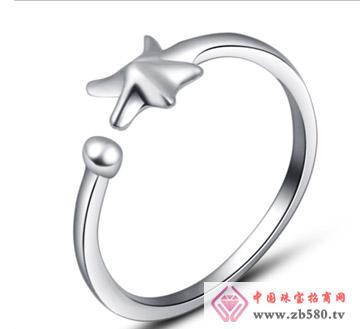 银铂利珠宝--戒指01