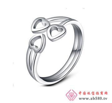 银铂利珠宝--戒指04