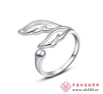 银铂利珠宝--戒指06