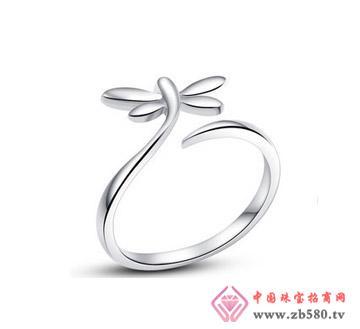 银铂利珠宝--戒指08