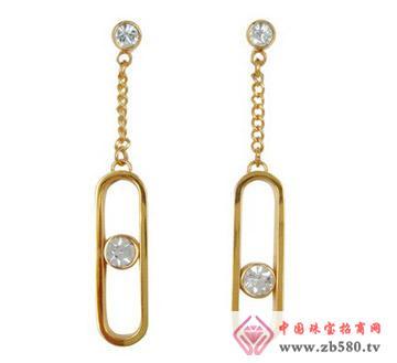 安琪珠宝--不锈钢耳环01