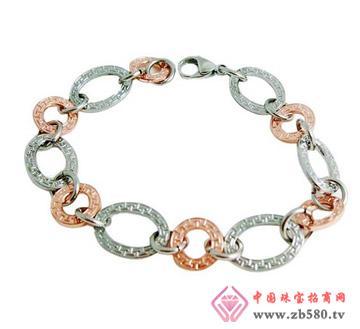 安琪珠宝--不锈钢手链01
