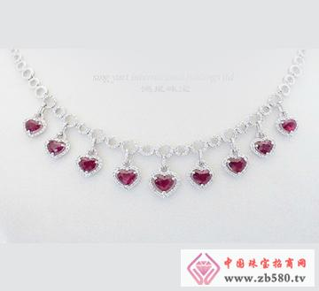 红宝石项链