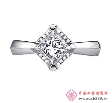公主方钻--戒指01