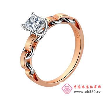公主方钻--戒指12