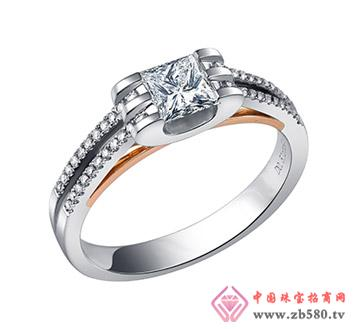 公主方钻--戒指10