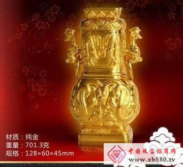 """金牛工贸--""""鸿福齐天""""方壶"""