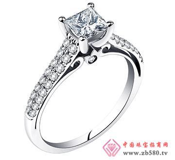 公主方钻--戒指17