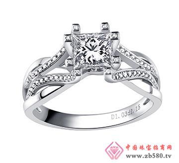 公主方钻--戒指20