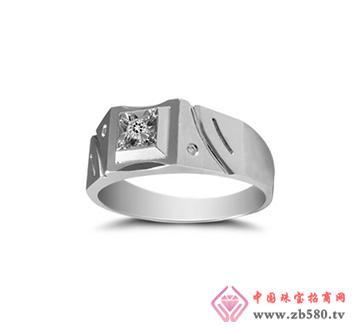 钻石男式戒指