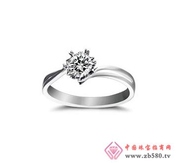 钻石女式戒指-钻石0.4克拉