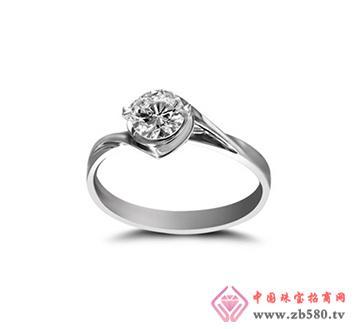 女式钻石戒指-钻石0.53克拉