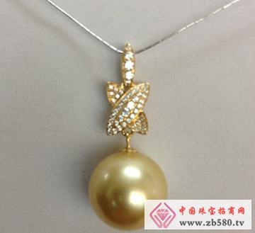 庄典珠宝--18K金珍珠吊坠02