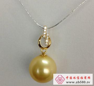 庄典珠宝--18K金珍珠吊坠03