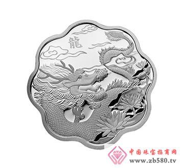 加拿大龙年1盎司梅花形银币