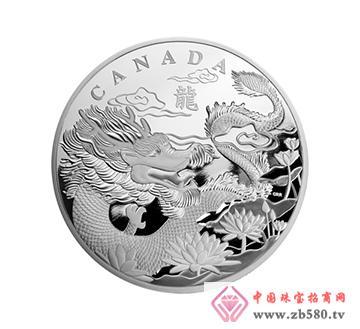 加拿大龙年1公斤银币