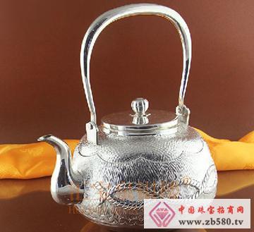 手工纯银茶壶银壶