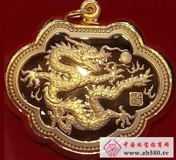 莆天珠宝--千足金金锁1