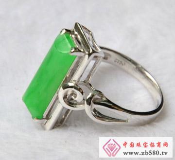 满绿-满色-长形-天宫珠宝翡翠