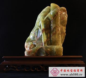 玉竹毛石—玉器收藏品