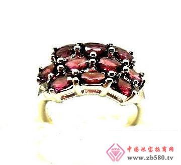 情缘水晶--天然石榴石戒指