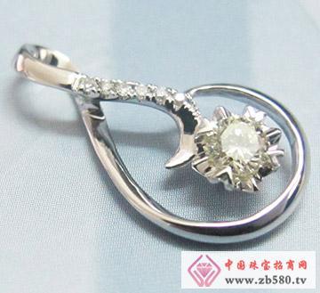 金利来珠宝--钻石吊坠01